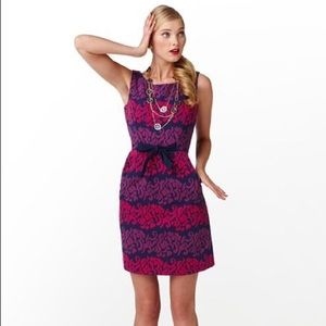 Lilly Pulitzer Evie Follow the Leader shift dress